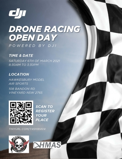 DJI Drone Racing Open Day 2021