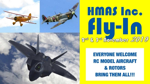 HMAS Inc. Fly-in 2019
