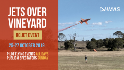 Jets over Vineyard - RC Jet Event